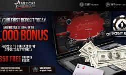 Americas Cardroom Welcome Bonus